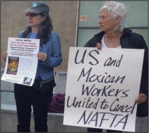 Nafta Mexican US united