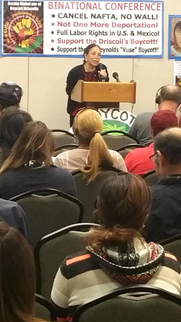 Ivonne Balcazar, Women's Caucus, CFA chapter at CSUDH