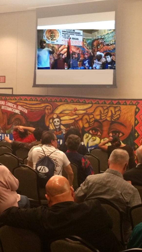 San Quintin leaders via Skype