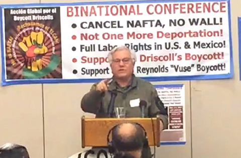 Labor activist Steve Zeltzer