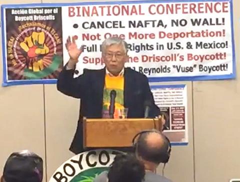 Dean Murakami, vice president, Sacramento Labor Council (AFL-CIO)